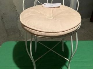 Small metal chair