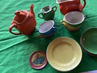 Small Miniature tea set