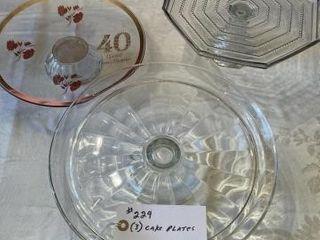 Cake Plates  3