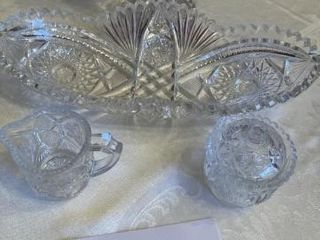 leaded Crystal Candy Dish