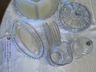 5  Glass pieces