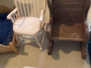 Doll chairs and Bed