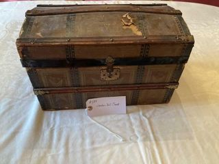 Wooden Doll Chest Doll