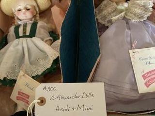 Alexander Dolls  2