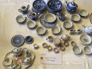 Several Tea Sets