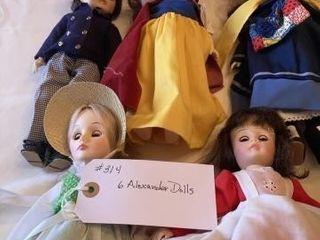 Alexander Dolls  6