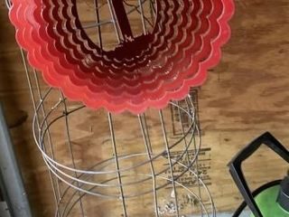 Tomato Cages leaf blower