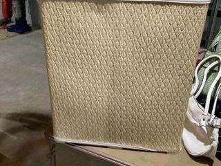 Wicker style hamper w hand bags