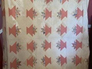 Quilt machine sewn Queen Size
