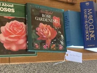 Assorted Books and Plaques