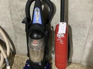 Dirt Devil   Bissel vacuum