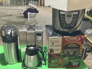 Mr Coffee  Fusion life pressure cooker   Crafe