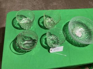 Ice bowl misc glass cups
