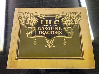 Jim Erdle Early Tractor Literature Auction