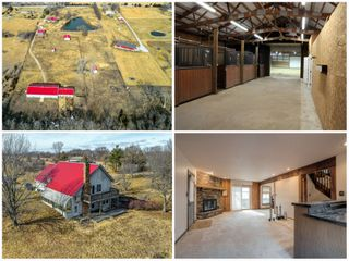 Olathe Kansas Home and Acreage with Riding Arena