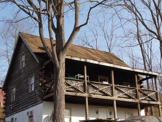 A Country Log Home on a Large Lot & Tools