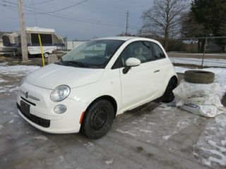 Dealer Closure   2012 Fiat 500 Pop FWD