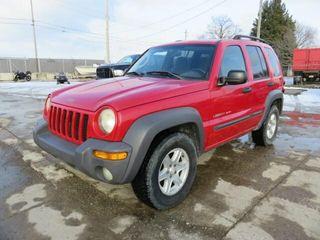 Impound   2003 Jeep liberty Sport 4x4