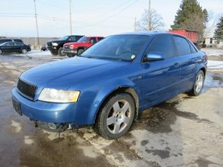 Parts Only   2003 Audi A4 1 8T quattro AWD