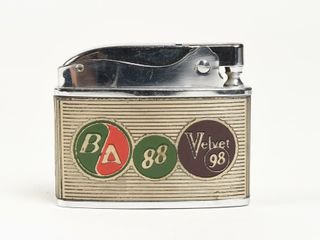 B A  GREEN RED  88 VElVET 98 lIGHTER  NOS  NO BOX