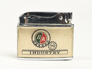 B A  GREEN RED  TO INDUSTRY lIGHTER  NOS   NO BOX