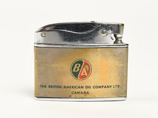B A  GREEN RED  PORT MOODY REFINERY lIGHTER  NOS