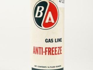 B A  GREEN RED  GAS lINE ANTI FREEZE 16 OZS  CAN