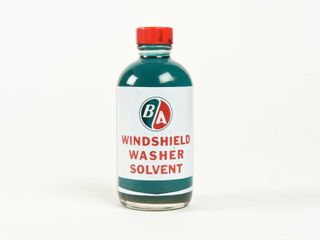 B A   GREEN RED  WINDSHIElD WASHER 6 OZ  BOTTlE