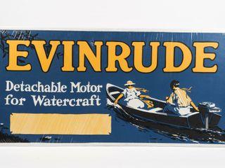 EVINRUDE DETACHABlE MOTOR FOR WATERCRAFT ADV