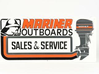 MARINER OUTBOARDS SAlES   SERVICE SST SIGN