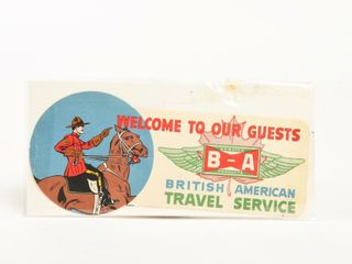 B A  BOWTIE  WElCOME TO OUR GUESTS S S ADVERTISING
