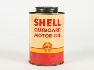 SHEll OUTBOARD MOTOR OIl SAE 40 U S  QUART CAN