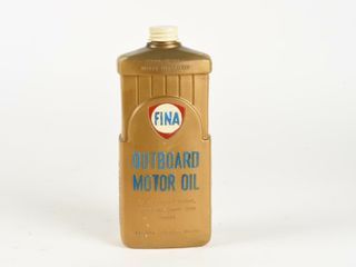 FINA OUTBOARD MOTOR OIl IMPERIAl QUART CONTAINER