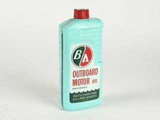 B A  GREEN RED  OUTBOARD MOTOR OIl IMPERIAl QUART