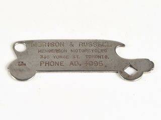 VERY RARE EARlY 1920 S TOURING CAR BOTTlE OPENER