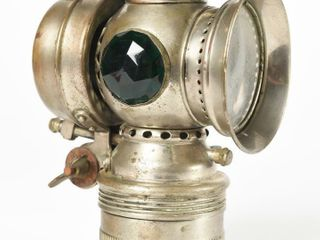 EARlY 1900 S SOlAR CARBIDE EMBOSSED BICYClE lIGHT