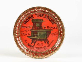 HOME TREASURE ADAMS FURNITURE TIN PIN TRAY