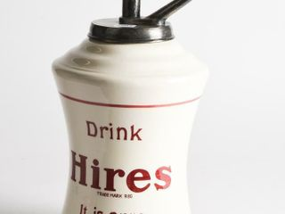 DRINK HIRES  IT IS PURE  SODA FOUNTAIN DISPENSER