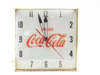 1959 DRINK COCA COlA ElECTRIC ClOCK