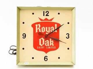 ROYAl OAK DAIRY lIMITED ElECTRIC ClOCK
