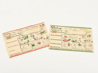 lOT 2 B A BOWTIE  SPEEDICARDS FROM SERVICE STATION