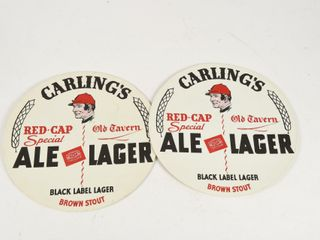 lOT 2 CARlING S RED CAP SPECIAl AlE TRAY lINERS