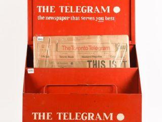 THE TElEGRAM NEWSPAPER PAY HERE BOX