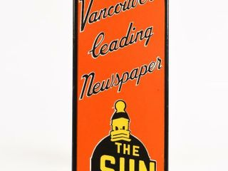 THE SUN VANCOUVER S lEADING NEWSPAPER PAlM PRESS