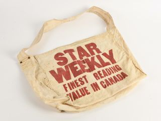 STAR WEEKlY  FINEST READING VAlUE  CANVAS BAG