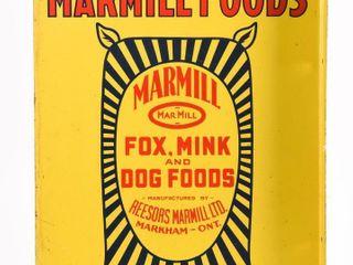 USE MARMIll FOODS  FOX  MINK   DOG FOODS  FlANGE