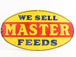 WE SEll MASTER FEEDS SSP OVAl SIGN