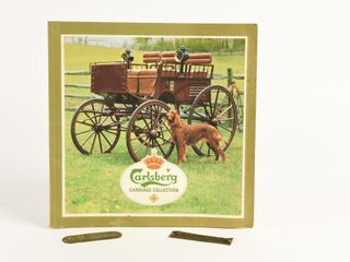 GROUPING OF 3  CARlSBERG CARRIAGE BOOKlET   2 TAGS