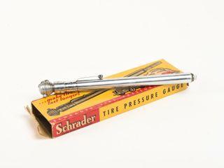 SCHRADER TIRE PRESSURE GAUGE   BOX   NOS