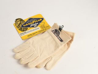 lOT OF 2 GOODYEAR DECAl   TIRES ONlY GlOVES   NOS